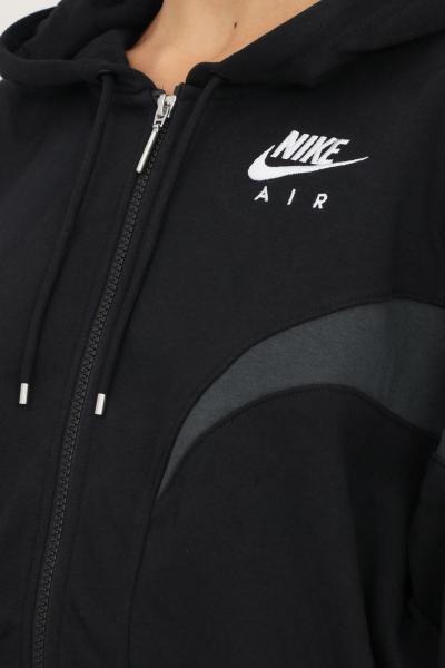 NIKE Felpa nike air women's full zip hoodie da donna nero con cappuccio e zip  Felpe | DD5447010