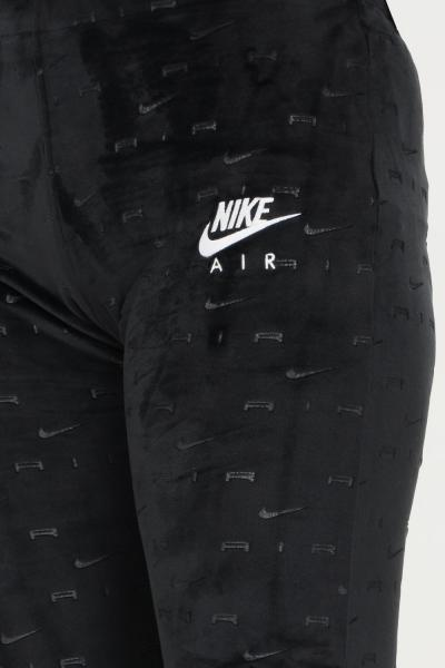 NIKE Pantaloni donna nero nike modello casual in velluto con logo allover  Pantaloni | DD5451010