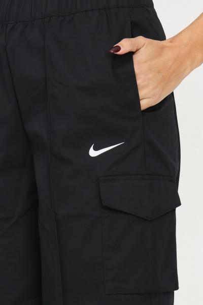 NIKE Pantaloni nike sportswear essentials da donna nero  Pantaloni | DD5983010