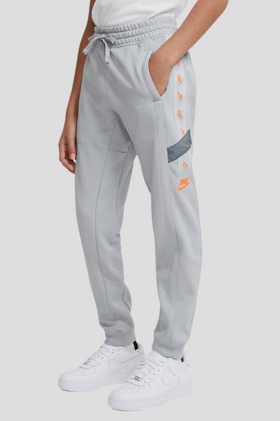 NIKE Pantaloni bambino unisex grigio nike con banda logo laterale  Pantaloni | DD8703077