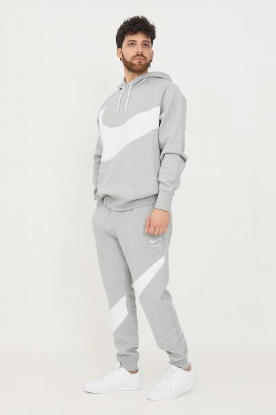 NIKE Pantaloni nike sportswear swoosh tech fleece uomo grigio  Pantaloni | DH1023063