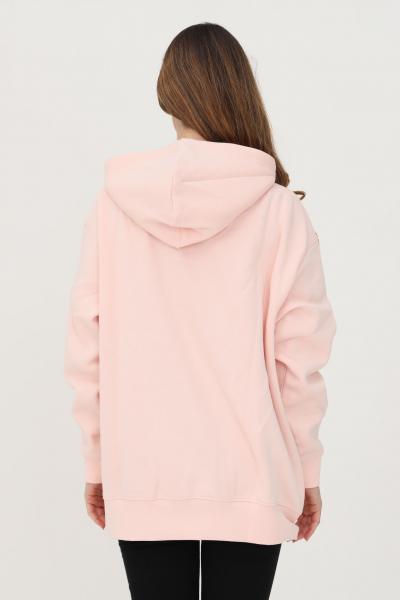 NIKE Felpa donna rosa nike con cappuccio e ricamo logo frontale  Felpe | DJ7668864