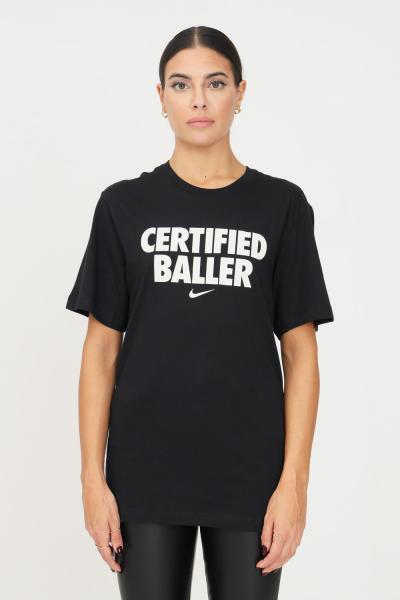 NIKE T-shirt unisex nero nike a manica corta con stampa glitter frontale  T-shirt | DM2449010