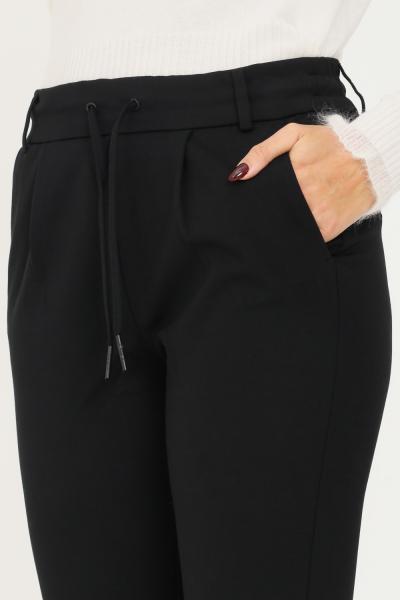 ONLY Pantaloni donna nero only con coulisse in vita  Pantaloni   15115847-L30BLACK