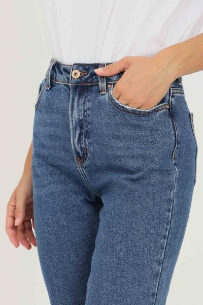 ONLY Jeans donna only a vita alta  Jeans   15171549-L30DARKBLUEDENIM