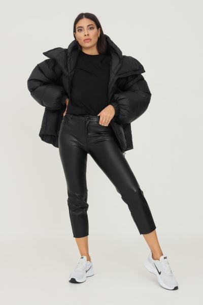 ONLY Pantaloni donna nero in ecopelle only  Pantaloni   15209293-L30BLACK