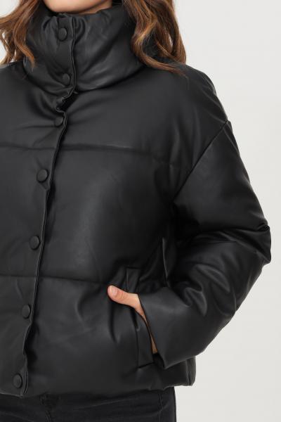 Giubbotto donna nero con bottoni  Giubbotti   15235006BLACK