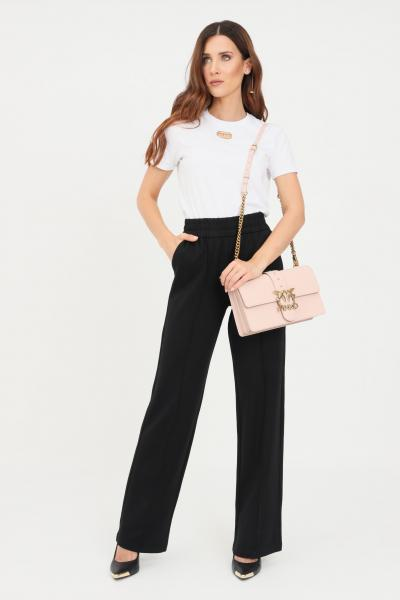 ONLY Pantaloni donna nero only in tessuto stretch  Pantaloni   15235076BLACK
