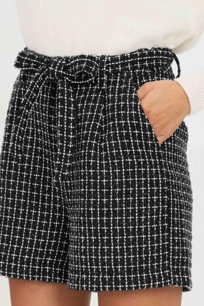 ONLY Shorts donna nero only casual con ricamo geometrico  Shorts   15235803BLACK