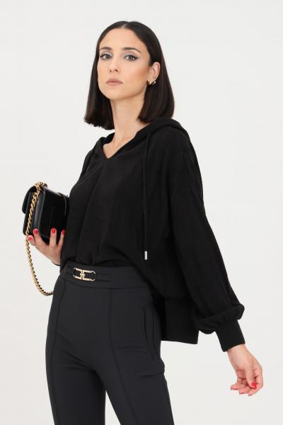 maglioncino donna nero  T-shirt   15236370BLACK