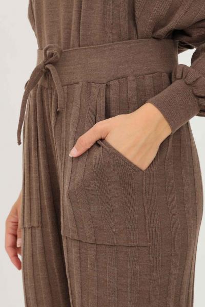 ONLY Pantaloni donna only modello casual con banda elastica in vita  Pantaloni   15236374CHESTNUT