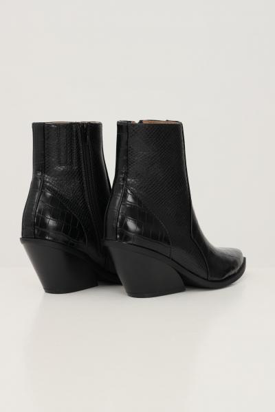 ONLY Tronchetto donna nero only con effetto coccodrillo  scarpe | 15238772BLACK