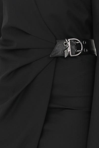 PATRIZIA PEPE Abito da cocktail donna nero patrizia pepe con applicazione fibbia  Abiti   2A2276/A1PHK103