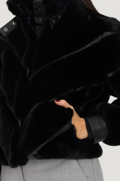 PATRIZIA PEPE Pelliccia eco nero corta firmata patrizia pepe  Giubbotti   2L0905/A5T7K103