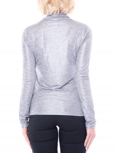 PATRIZIA PEPE T-shirt donna silver patrizia pepe a manica lunga  T-shirt   2M4170/A9W4S498