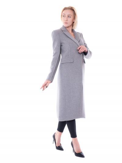 PATRIZIA PEPE Cappotto in panno donna grigio patrizia pepe taglio lungo  Cappotti   2S1363/A171S263