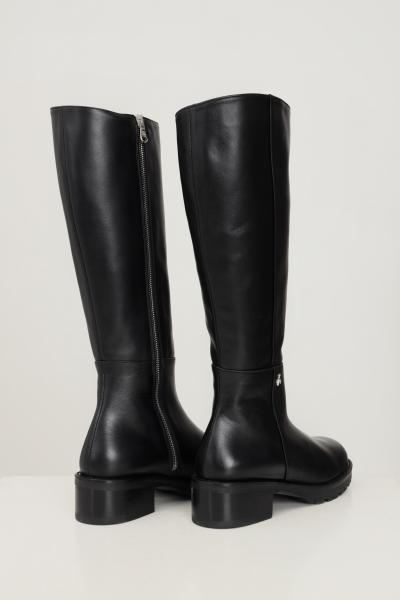 PATRIZIA PEPE Stivali donna nero patrizia pepe con zip laterale  Stivali | 2VA354/A3KWK103