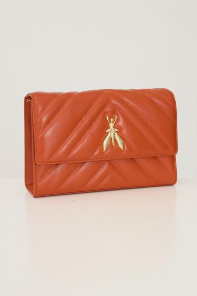 PATRIZIA PEPE Borsa donna arancio patrizia pepe con tracolla in catena removibile  Borse   2VA422/A8K7R740
