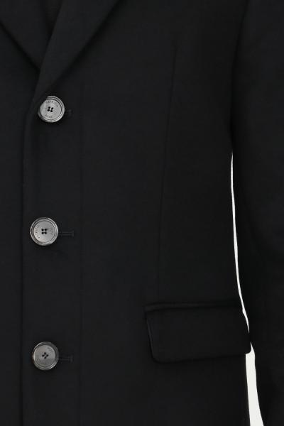 PATRIZIA PEPE Cappotto uomo nero patrizia pepe con bottoni  Cappotti | 5S0737/A2VDK416
