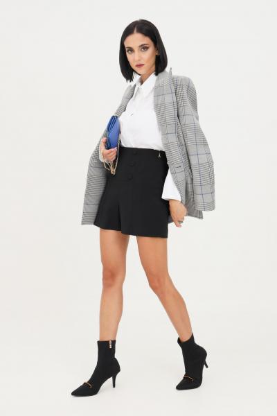 PATRIZIA PEPE Shorts nero donna patrizia pepe a vita alta  Shorts   8P0366/A6F5K103