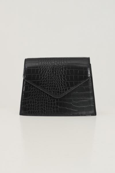 PIECES Borsa donna nero pieces con tracolla modello in tessuto martellato  Borse | 17115989BLACK