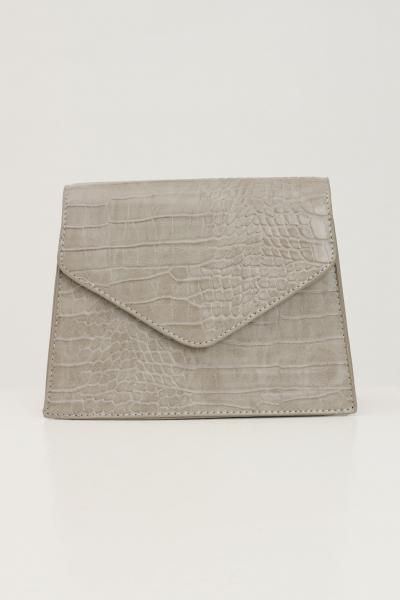 PIECES Borsa donna ghiaccio pieces con tracolla modello in tessuto martellato  Borse | 17115989SILVERMINK