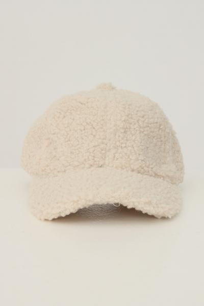 PIECES Berretto da donna panna pieces in tessuto pesante  Cappelli | 17116751WHITCAP