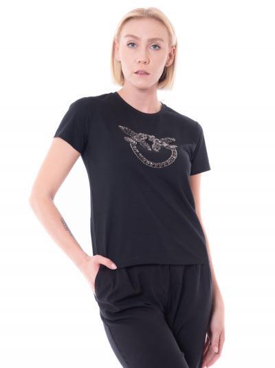 PINKO pinko quentin t-shirt  T-shirt | 1G16JB-Y4LXZ99