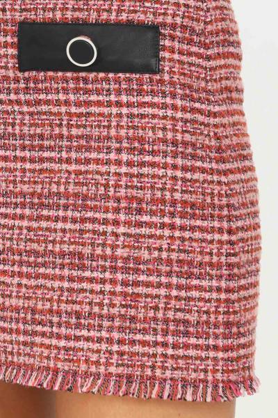 PINKO Gonna corta donna rosa pinko con applicazione bottoni sul davanti  Gonne | 1G16V3-8571YN3
