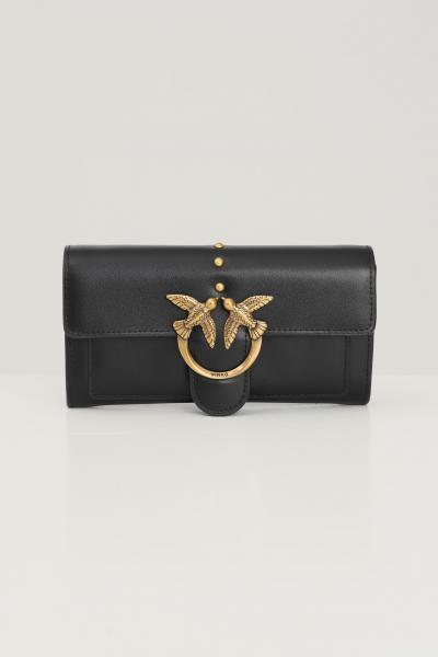 PINKO Pochette donna nero pinko con fibbia oro  Borse | 1P22AM-Y6XTZ99