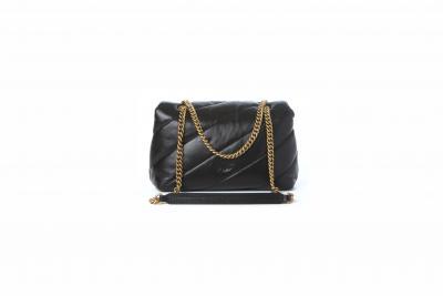 PINKO Borsa classic puff quilt donna nero pinko con tracolla  Borse | 1P22AY-Y6Y3Z99