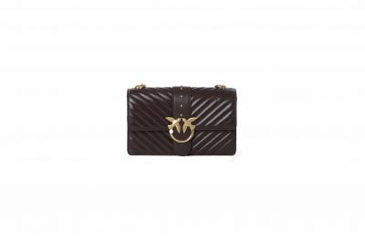 PINKO Borsa donna love classic icon v quilt 3 cl  Borse | 1P22BT-Y7FYZ99