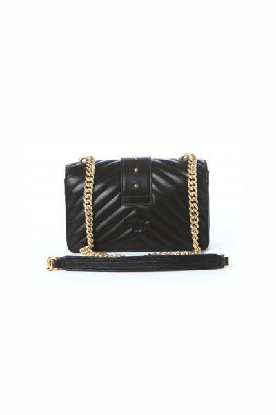 PINKO Borsa donna nero pinko con tracolla lavorazione trapuntata  Borse | 1P22BW-Y7FYZ99