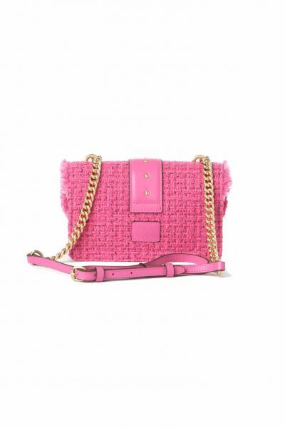PINKO Borsa donna rosa pinko modello intreccio con tracolla  Borse   1P22CV-Y7G9NJ7