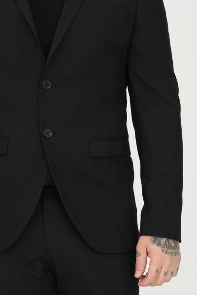 SELECTED Giacca uomo monopetto nero selected chiusura frontale con bottoni  Giacche   16051232BLACK