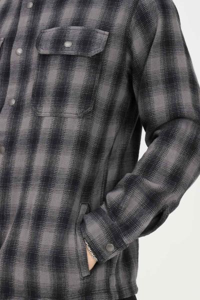SELECTED Camicia uomo grigio selected chiusura con bottoni a pressione  Camicie | 16080849CASTLEROCK