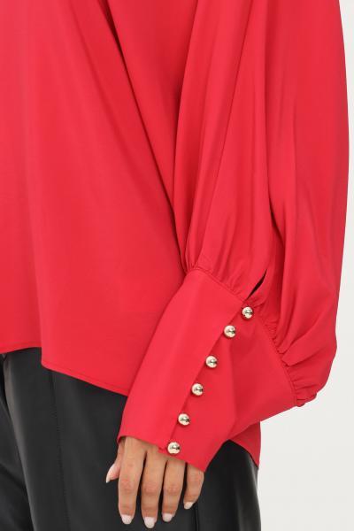 SIMONA CORSELLINI Blusa donna corallo simona corsellini con maniche scese e ampie  Bluse | A21CPBL001-01-TACE00020524