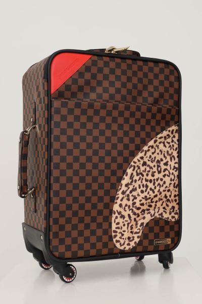 SPRAYGROUND Trolley sprayground soft carry on luggage marrone unisex  Borse | 910CL116NSZ.