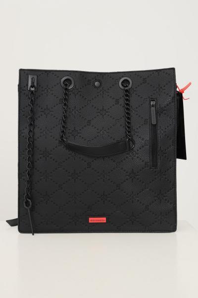 SPRAYGROUND Shopper donna nero sprayground con manici fissi in catena e tracolla regolabile  Borse | 910T3964NSZ.