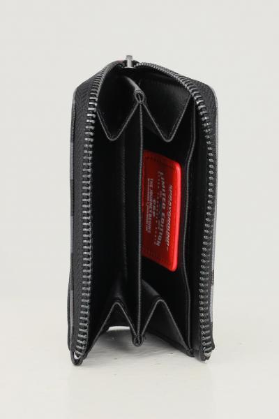 SPRAYGROUND Portafogli unisex nero sprayground con zip  Portafogli | 910W3884NSZ.