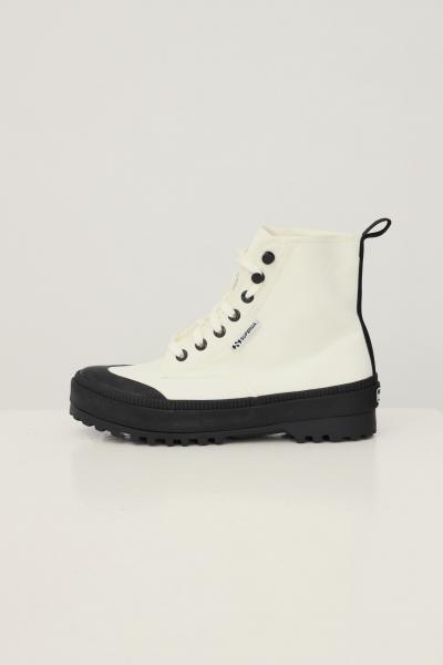 SUPERGA Sneakers alpina nylon trek bianco superga modello stivaletto  Sneakers | S4113DWX1L