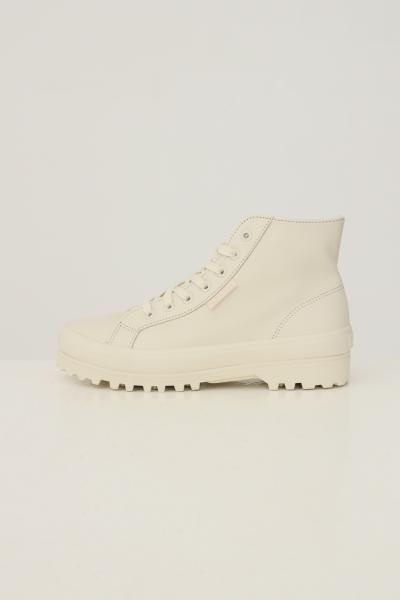 SUPERGA Sneakers alte alpina design high-top donna bianco superga  Sneakers | S41188WA6D