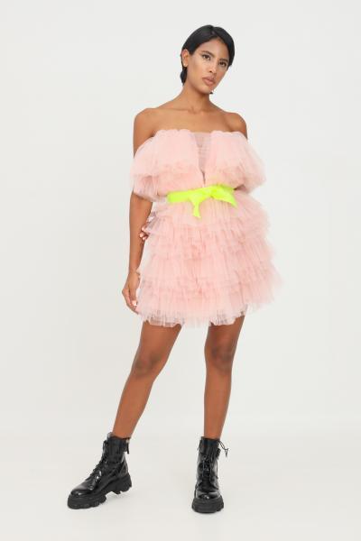TEEN IDOL Abito donna rosa teen idol in tulle con cintura  Abiti | 029777166