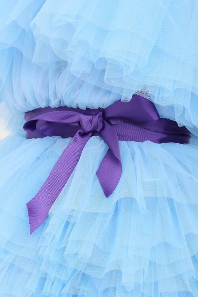 TEEN IDOL Abito donna azzurro teen idol in tulle con cintura  Abiti | 029777186
