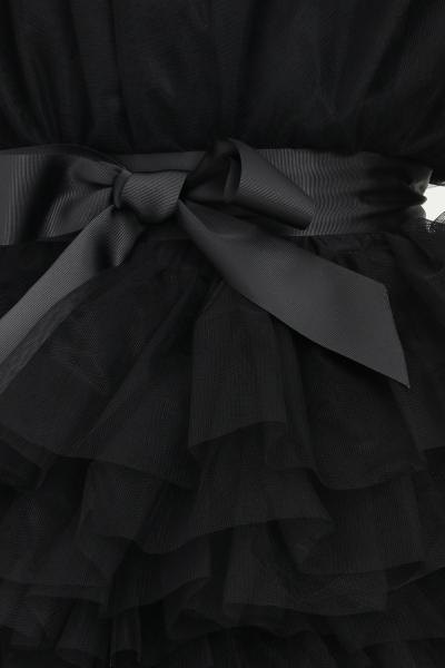 TEEN IDOL Abito donna nero teen idol in tulle con cintura in vita  Abiti | 029783110