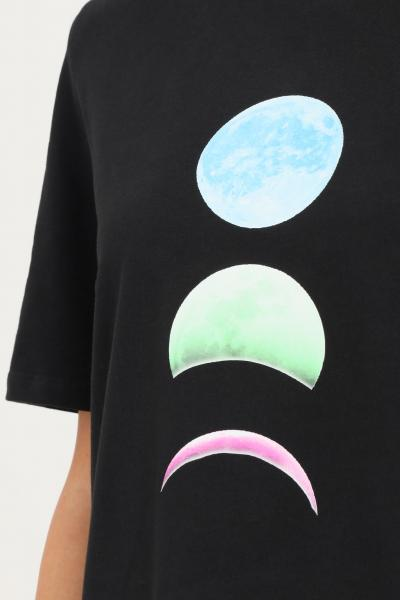 TEEN IDOL T-shirt nero donna teen idol con stampa frontale e spalline  T-shirt | 029791110