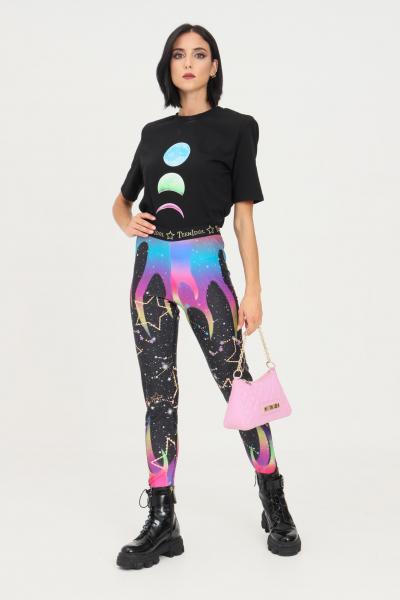 TEEN IDOL Leggings donna fantasia space teen idol con elastici sul fondo  Leggings | 029812200