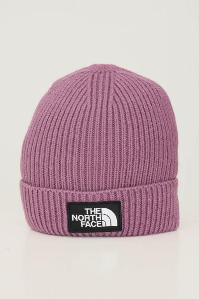 THE NORTH FACE Cappello unisex viola the north face con applicazione logo frontale  Cappelli   NF0A3FJX0H510H51