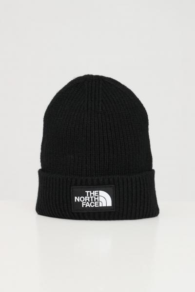 THE NORTH FACE Berretto unisex nero the north face in lana con risvolto  Cappelli | NF0A3FJXJK31JK31