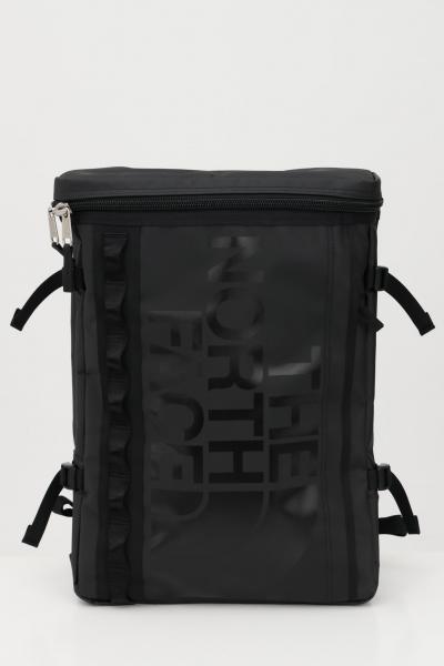 Zaino base camp fuse box unisex nero in tinta unita con logo frontale tono su tono  Zaini | NF0A3KVRKX71KX71